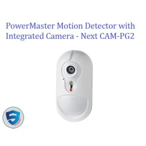 PowerMaster Motion Detector with Integrated Camera - Next CAM-PG2