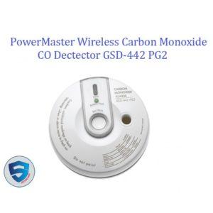 PowerMaster Wireless Carbon Monoxide CO Dectector GSD-442 PG2