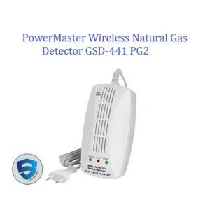 PowerMaster Wireless Natural Gas Detector GSD-441 PG2