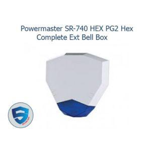 Powermaster SR-740 HEX PG2 Hex Complete Ext Bell Box