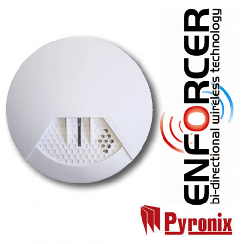 Pyronic Wireless SMOKE-WE Smoke detector Contact Sensor-500×500