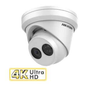 Hikvision 8MP fixed lens 30 metre IR turret Network CCTV Camera