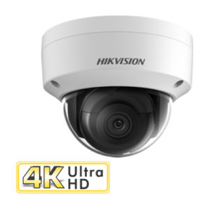 Hikvision 8MP 30 meter IR fixed lens CCTV Dome Camera