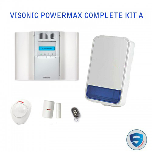 Visonic PowerMax Home Security Alarm System Complete Kit A