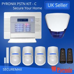 PYRONIX ENFORCER WIRELESS HOME ALARM SYSTEM PSTN KIT- C
