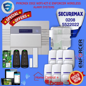 PYRONIX ENFORCER HOME ALARM SYSTEMS DIGI WIFI -KIT- E
